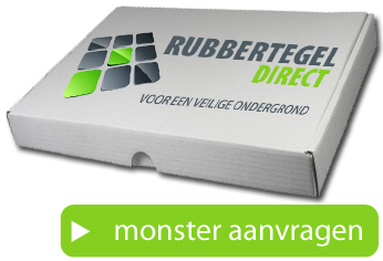 Monster van RubbertegelDirect.nl